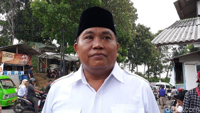 Arief Poyuono Waketum Gerindra/Foto: Tsarina Maharani/detikcom