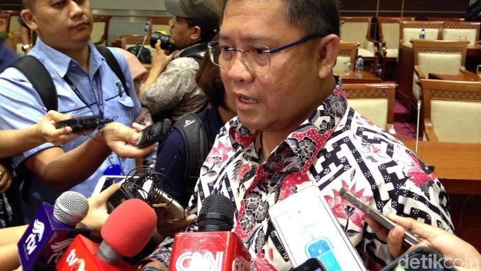 Menkominfo Rudiantara menunggu hasil audit kebocoran data Facebook. (Agus Tri Haryanto/detikINET)