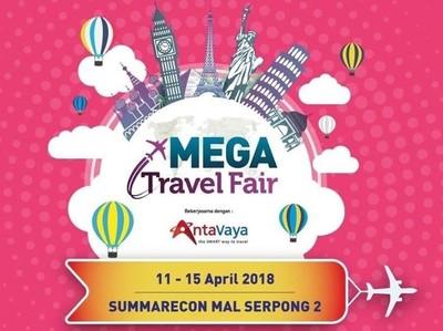 Serbu! Mega Travel Fair Tangerang Dimulai Hari Ini