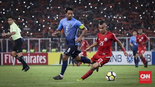 Persija Jakarta lolos ke semifinal zona ASEAN Piala AFC.
