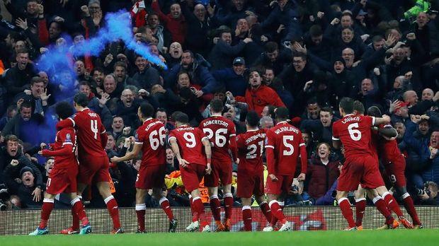 Performa apik Mohamed Salah turut meningkatkan kualitas permainan Liverpool.