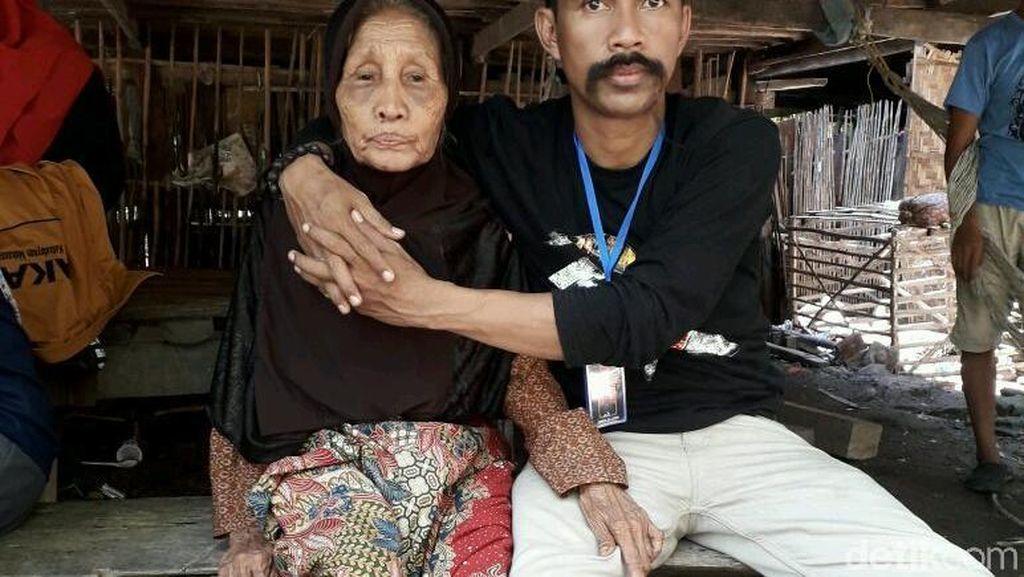 Rumah Nenek di Sulsel yang Beratap Daun Kelapa Dibangun Ulang