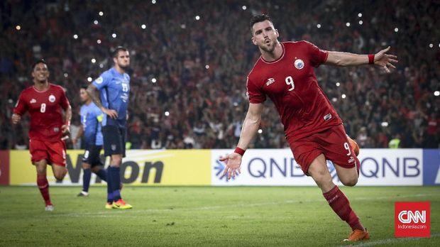 Marko Simic kembali ke Persija Jakarta.