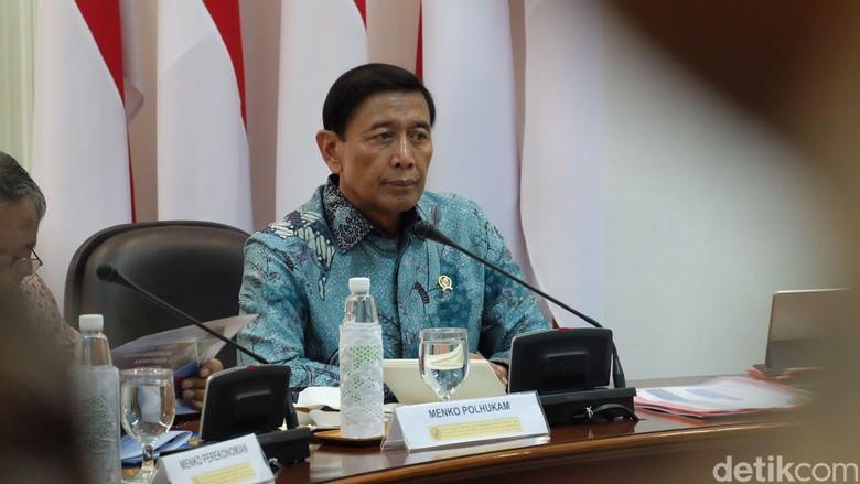 Wiranto: Definisi Terorisme di RUU Sudah Diluruskan ke TNI-Polri