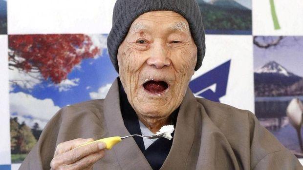 Nonaka, orang tertua di dunia yang masih hidup kini (Reuters)