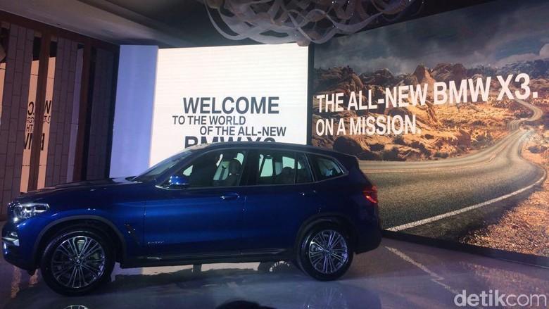 SUV Terbaru BMW di Indonesia Ini Dibanderol Rp 1 Miliaran Foto: Khairul Imam Ghozali