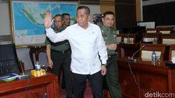 Temui Jokowi, Menhan Cerita Banyak Perwira Tak Dapat Jabatan