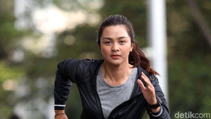 Dellie Threesyadinda, atlet panahan nasional (Grandyos Zafna/detikSport)
