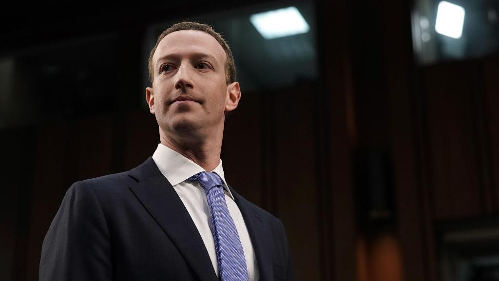 Ngakak! Ketika Ekspresi Tegang Mark Zuckerberg Dijadikan Meme