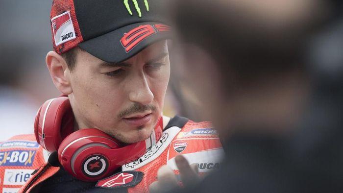 Jorge Lorenzo gembira dengan progres menuju MotoGP Spanyol. (Foto: Mirco Lazzari gp/Getty Images)