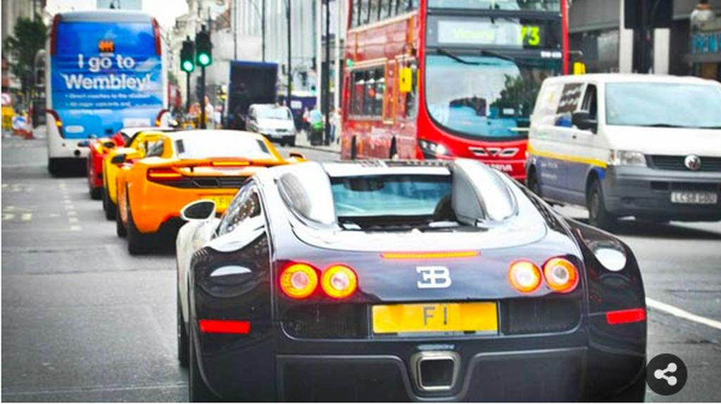 Pelat Mobil Termahal di Dunia Harganya Rp 281 Miliar!