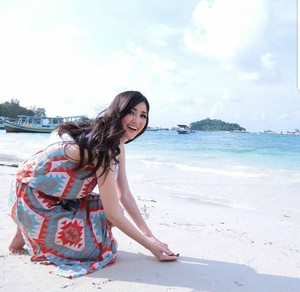 Ide Liburan ala Puteri Indonesia 2018 di Belitung