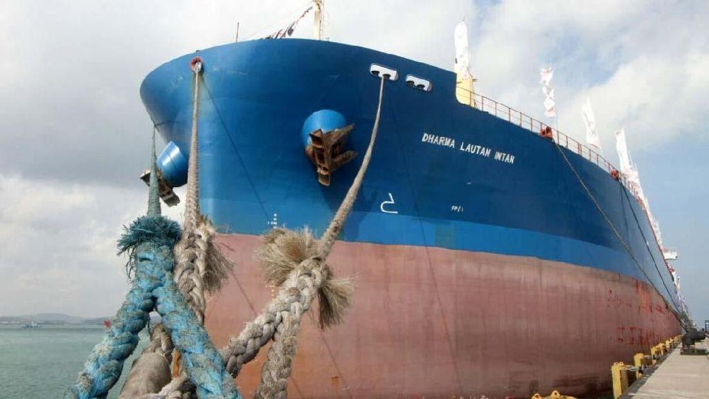 Ini Kapal MV Dharma Lautan Intan yang Diresmikan Menteri BUMN