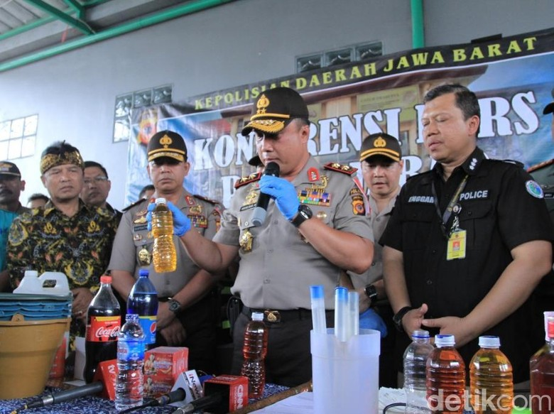 Wow, Ini Omzet Produksi Miras Oplosan Maut di Kabupaten Bandung