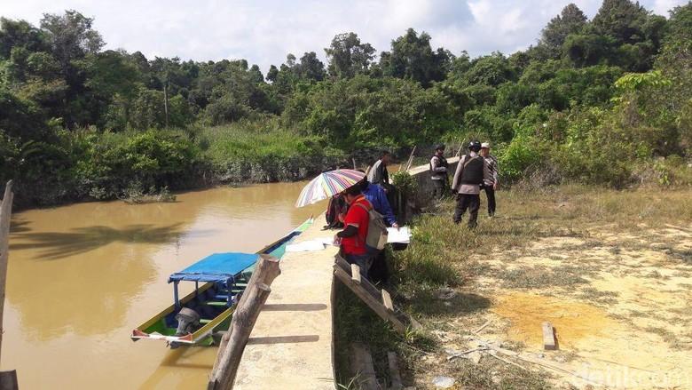 KPK Bareng Bareskrim Cek Turap Sungai Sesayap Kaltara