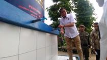 Jonan Resmikan Sumur Bor di Pesantren Bogor