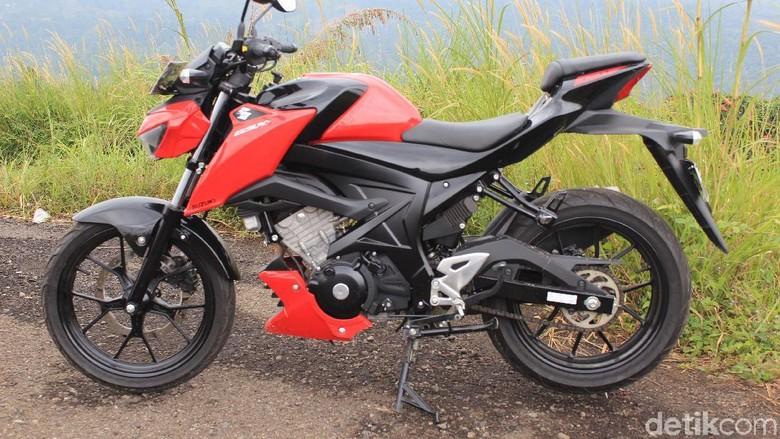 Ilustrasi Suzuki GSX 150 (Foto: Dadan Kuswaraharja)