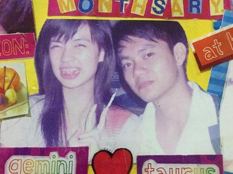 Justine Ann dan Ivan semasa kuliah