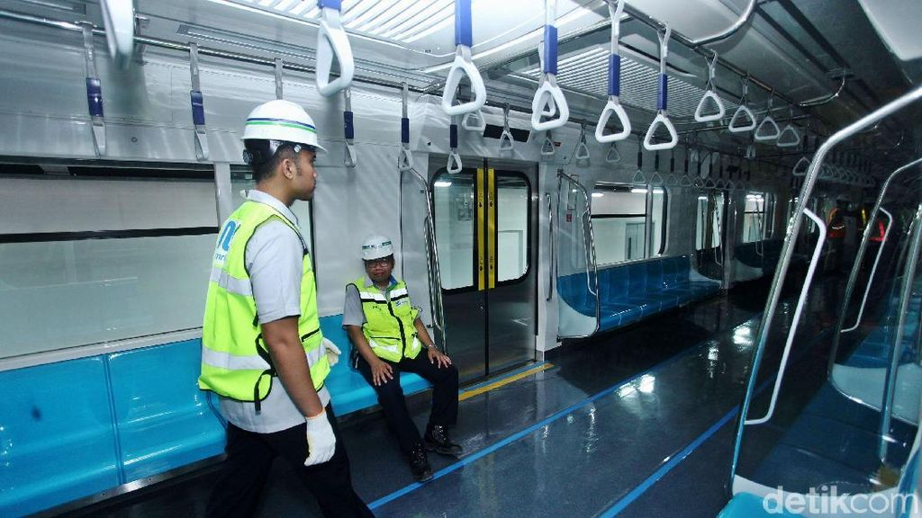 Tarif MRT Jakarta Diusulkan Rp 8.500 per 10 Km