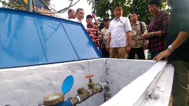 Menteri ESDM Ignasius Jonan cek sumur bor di Sampang-Madura