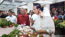 Ke Jayapura, Jokowi Beli Tomat di Pasar Mama-mama Papua