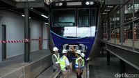 Kereta MRT Akan Uji Coba di Atas Rel 9 Agustus 2018