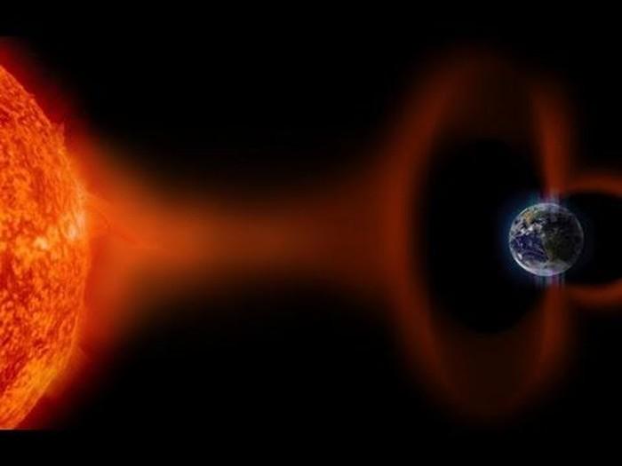 Ilustrasi badai Matahari. Foto: Internet