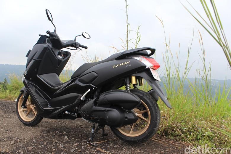 Yamaha Nmax Model 2018. Foto: Dadan Kuswaraharja