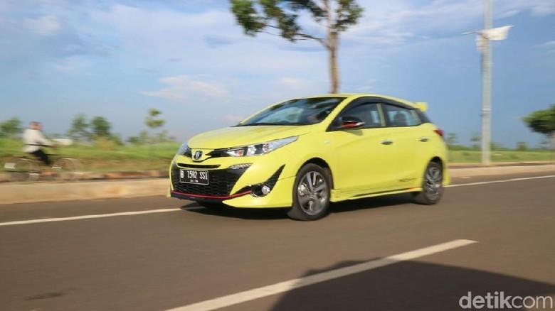 Toyota Yaris (Foto: Dadan Kuswaraharja)
