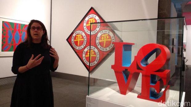 Kenalkan Ini Robert Indiana, Pencipta Patung Ikonik 'LOVE'