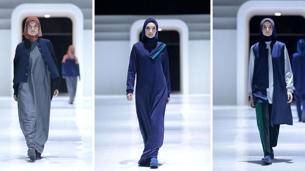 Busana Muslim Bergaya 'Sporty' ala L.tru