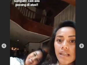 Setelah Pocong, Ada Makhluk Halus Lain yang Narsis di Video Lia Waode