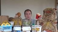 Seminggu Makan McDonalds, Berat Badan YouTuber Ini Turun 2,6 Kg!