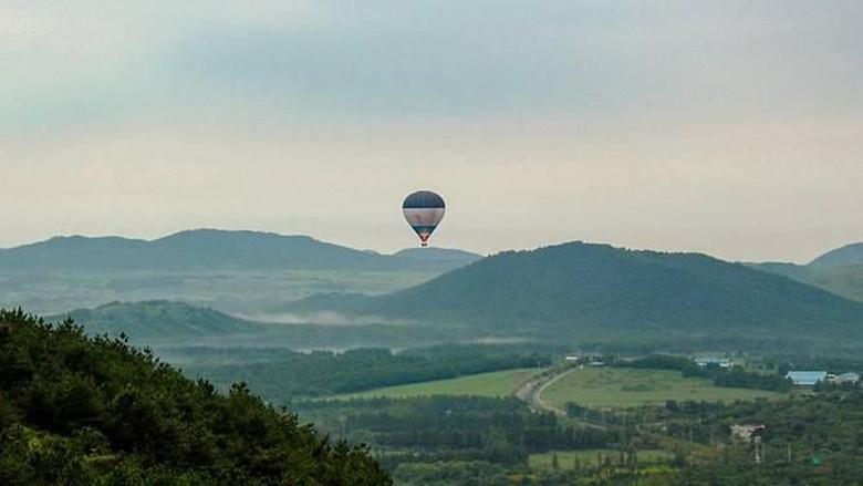 Balon Udara Jatuh di Jeju Korsel, 1 Orang Tewas dan 12 Luka
