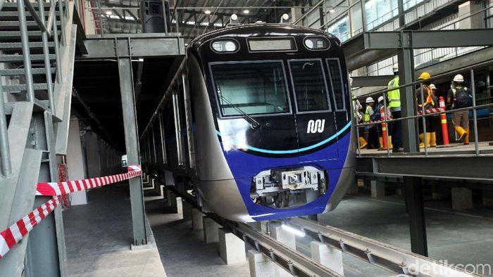 MRT Jakarta/Foto: Lamhot Aritonang