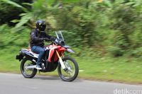 Honda CRF250 Rally.