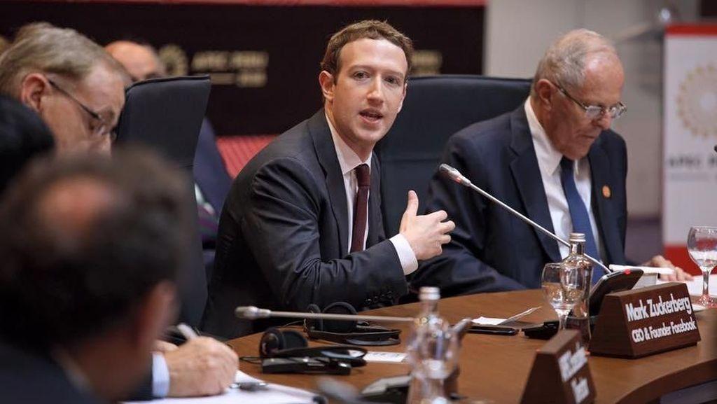 Kekayaan Zuckerberg Lenyap Rp 231 Triliun
