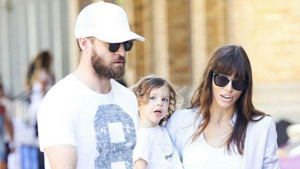 Keseruan Justin Timberlake Ajak Istri dan Anak Ikut Tur Musiknya