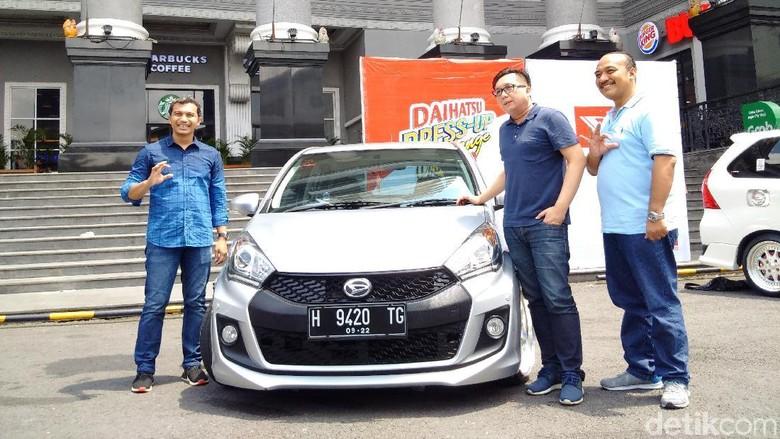 Aneka Mobil Modif Siap Bertarung di Yogyakarta Foto: Ristu Hanafi/detikOto