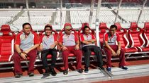 Pejabat Mabes Polri Cek Venue Asian Games di GBK