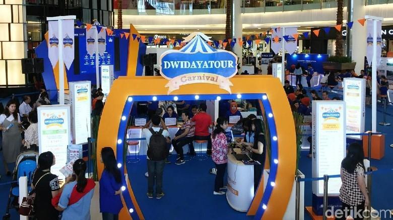 Travel Fair Dwidaya (Kurnia/detikTravel)