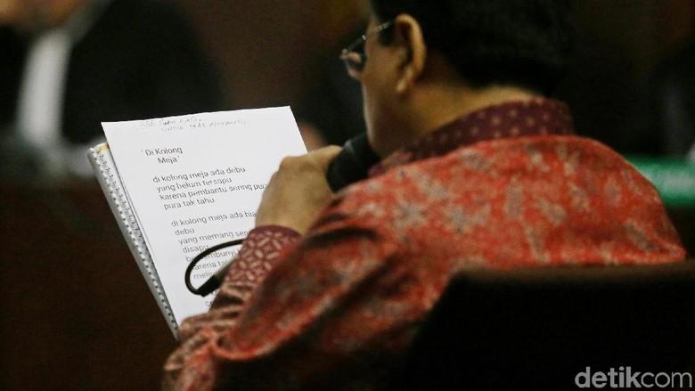Kata KPK soal Pleidoi Novanto yang Tak Lagi Sebut Puan-Pramono