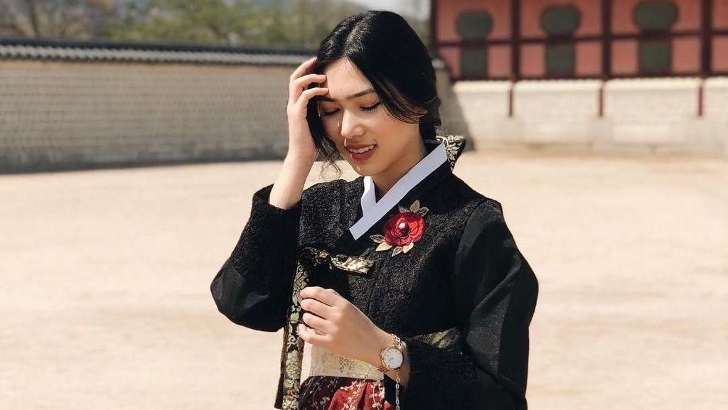 Pakai Hanbok, Kecantikan Isyana Sarasvati Disebut Mirip Park Shin Hye