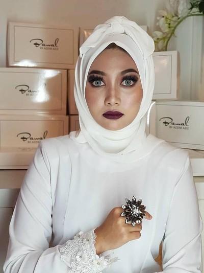 Hijab Pocong yang Viral. Foto: Instagram/Azzim_aziz