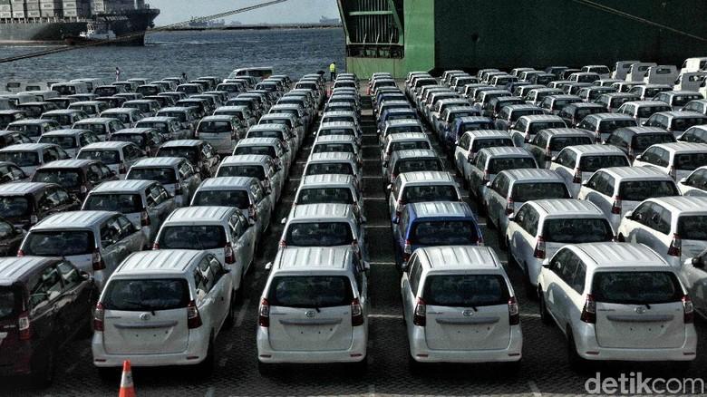 Pengiriman mobil ke luar negeri. Foto: Pradita Utama