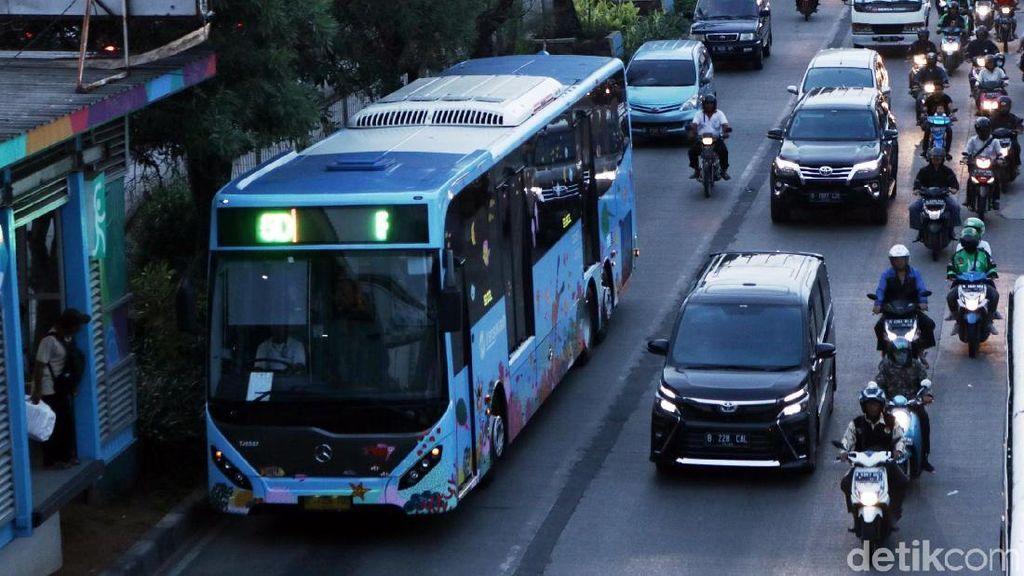 Ada Aksi Bela Palestina, 7 Halte Koridor II Tak Layani Penumpang