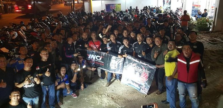 Foto: Yamaha Nmax Riders Bekasi
