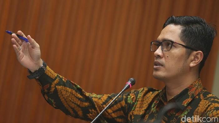 Kabiro Humas KPK Febri Diansyah (Foto: Ari Saputra/detikcom)