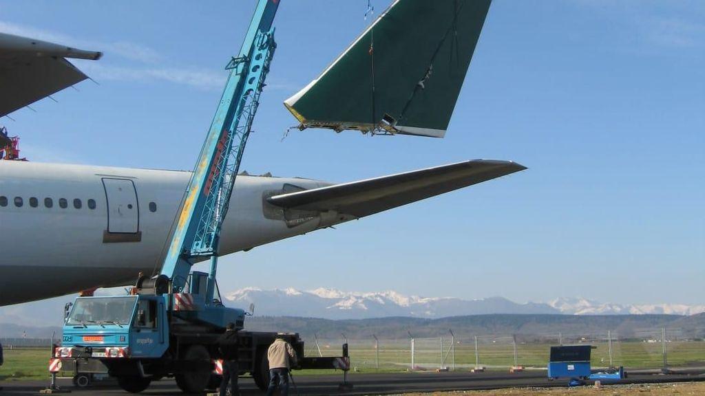 Foto: Saat Pesawat Terbang Pensiun