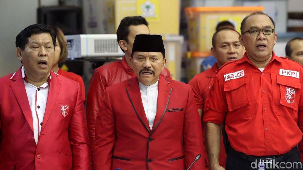 Beda Hendropriyono dan Tommy Soeharto Tatap Pemilu 2019